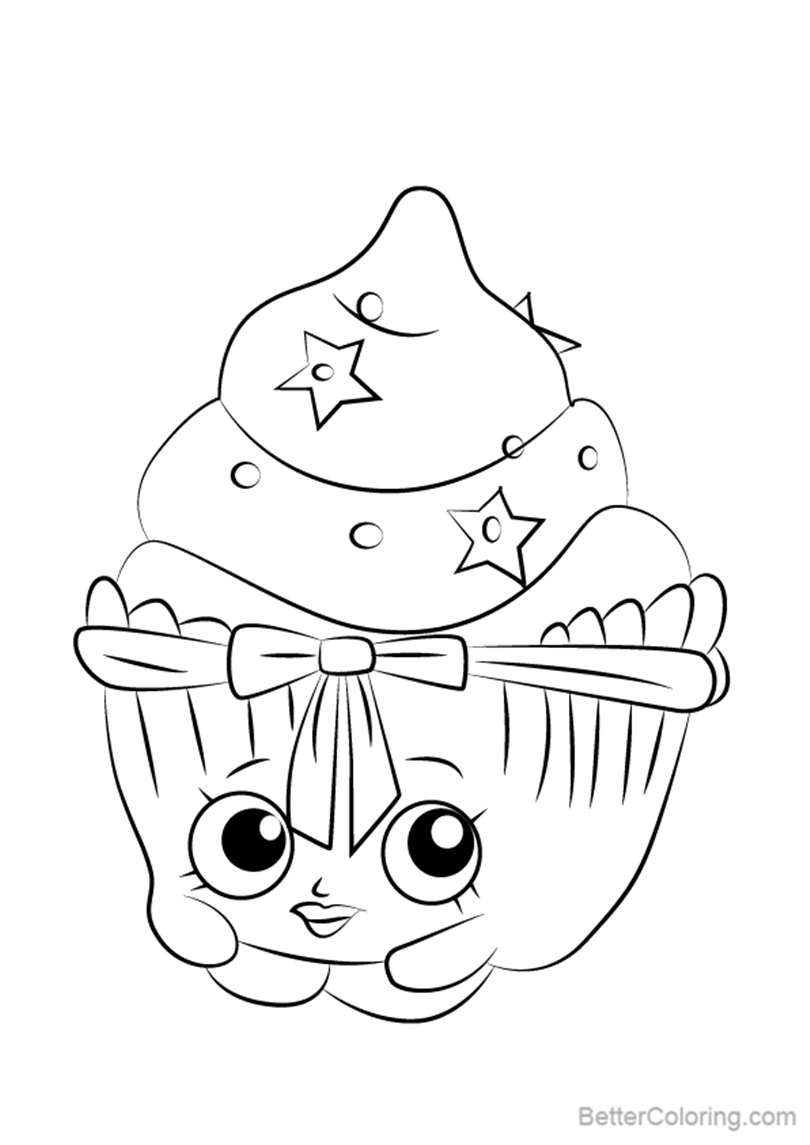 Patty Cake from Shopkins Coloring
