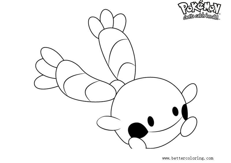 Free Pokemon Coloring Pages Chingling printable