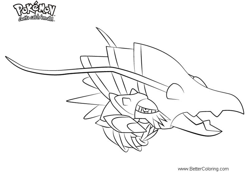 Free Pokemon Coloring Pages Clawitzer printable