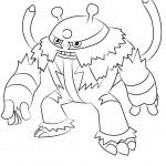 Pokemon Coloring Pages Electivire