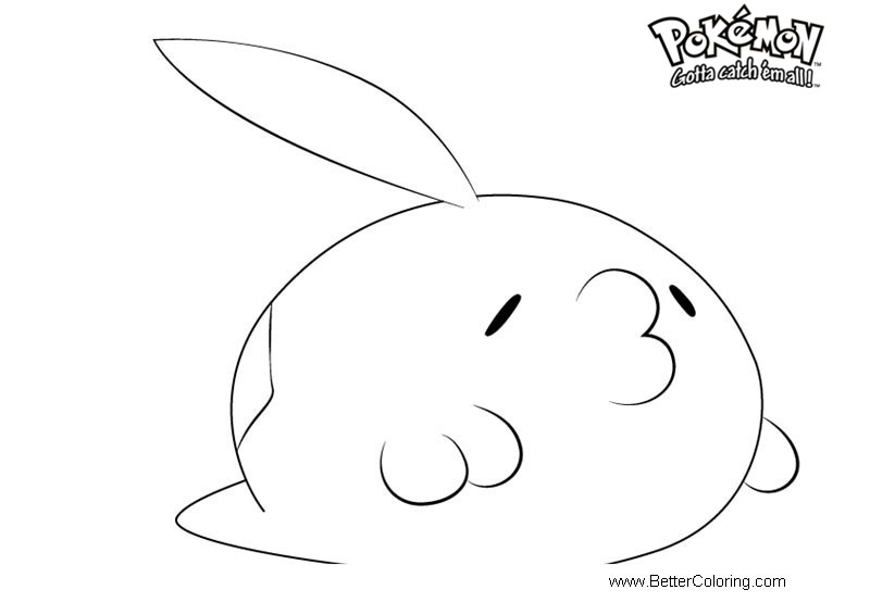 Free Pokemon Coloring Pages Gulpin printable