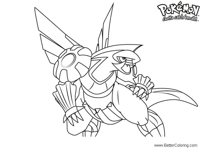 Free Pokemon Coloring Pages Palkia printable