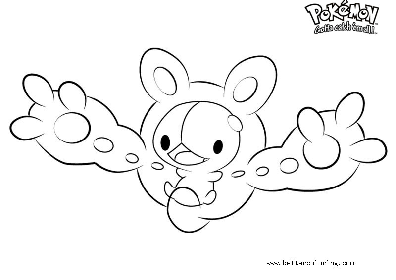 Free Pokemon Coloring Pages Reuniclus printable