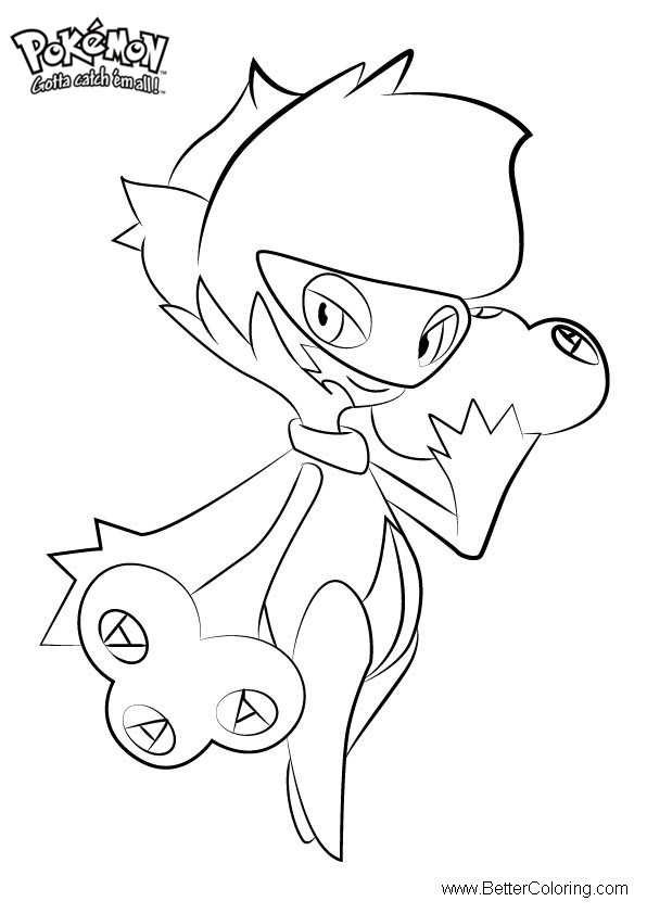 Free Pokemon Coloring Pages Roserade printable