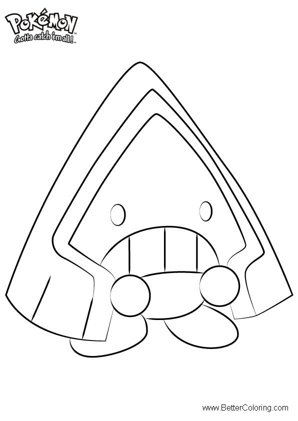 Free Pokemon Coloring Pages Snorunt printable