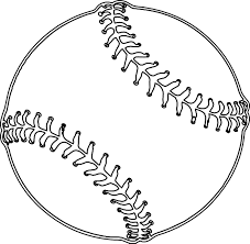 Free Realistic Baseball Coloring Pages printable