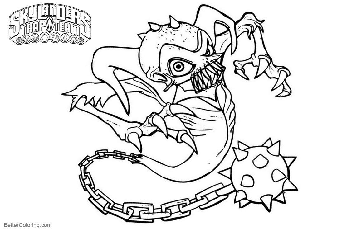 picture about Ghost Printable known as Skylanders Coloring Web pages Ghost - Cost-free Printable Coloring Internet pages