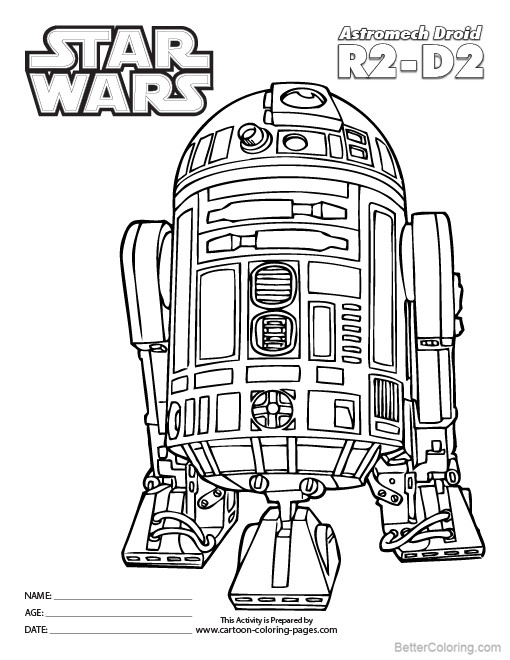 coloring pages kids star wars - photo#12