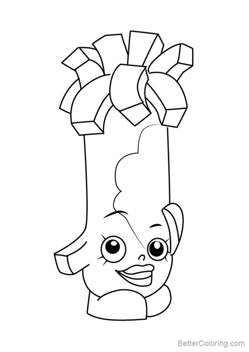 Free Swiss Miss from Shopkins Coloring Pages printable