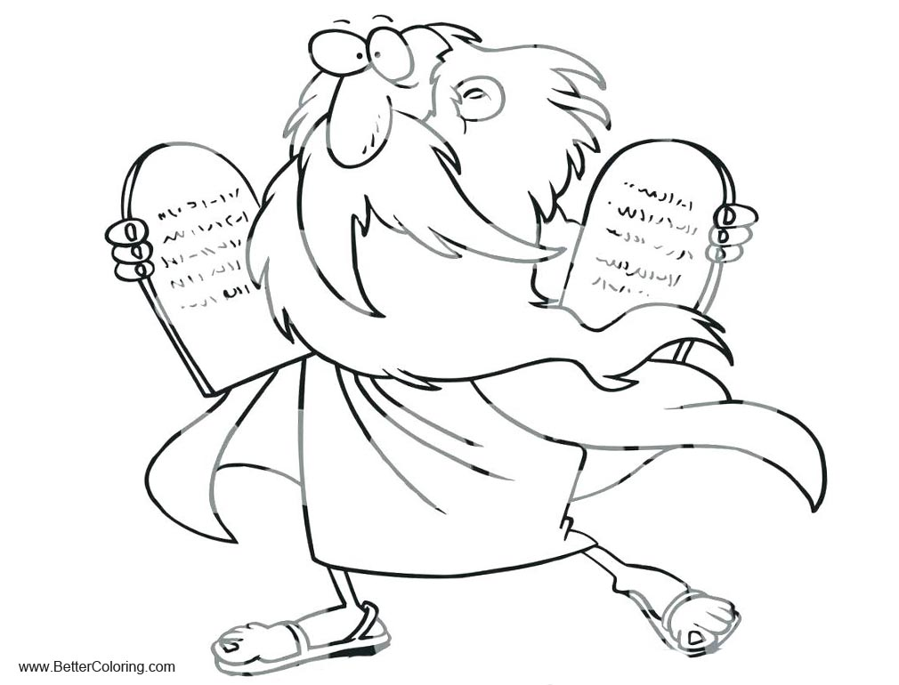 Ten Commandments Coloring Pages Clipart - Free Printable Coloring Pages