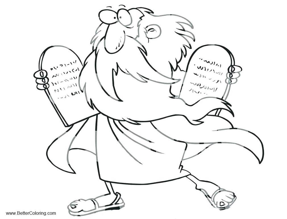 Ten Commandments Coloring Pages Clipart - Free Printable ...