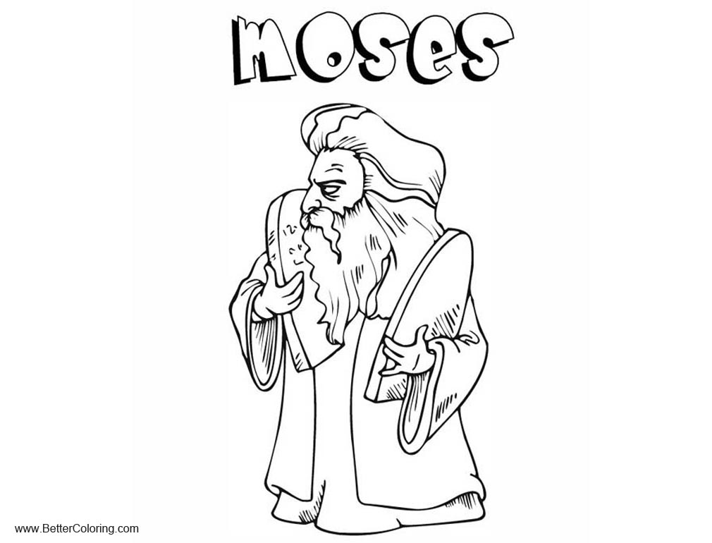 photo regarding Free Printable Moses Coloring Pages titled 10 Commandments and Moses Coloring Internet pages - Totally free Printable