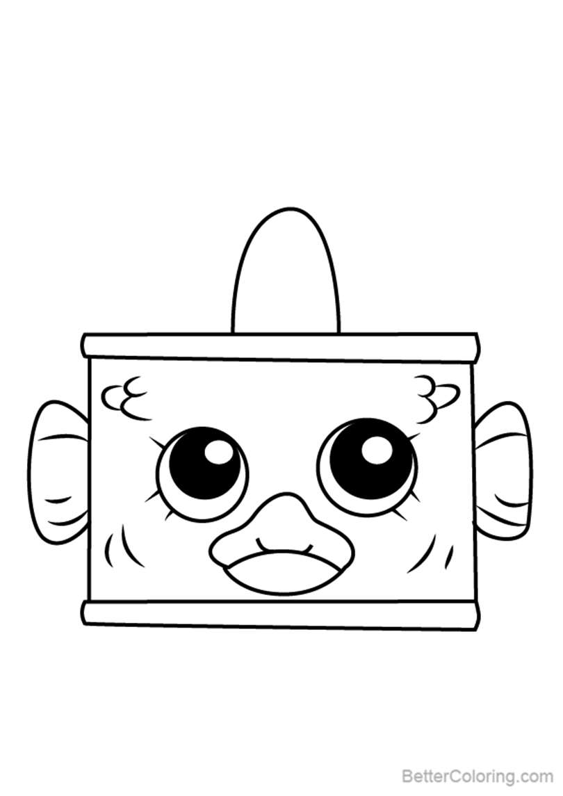 Free Tin Tuna from Shopkins Coloring Pages printable