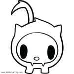 Tokidoki Coloring Pages Adios Free Printable Coloring Pages