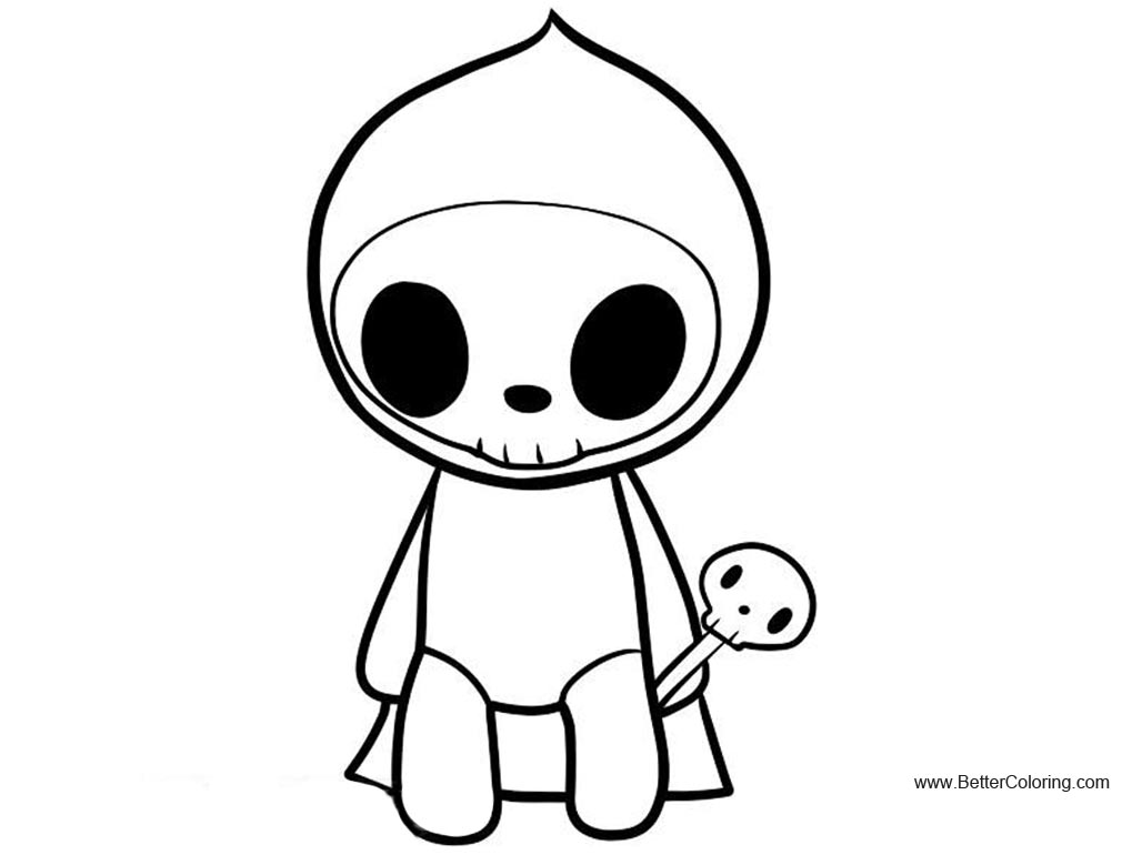 Free Tokidoki Coloring Pages Adios printable