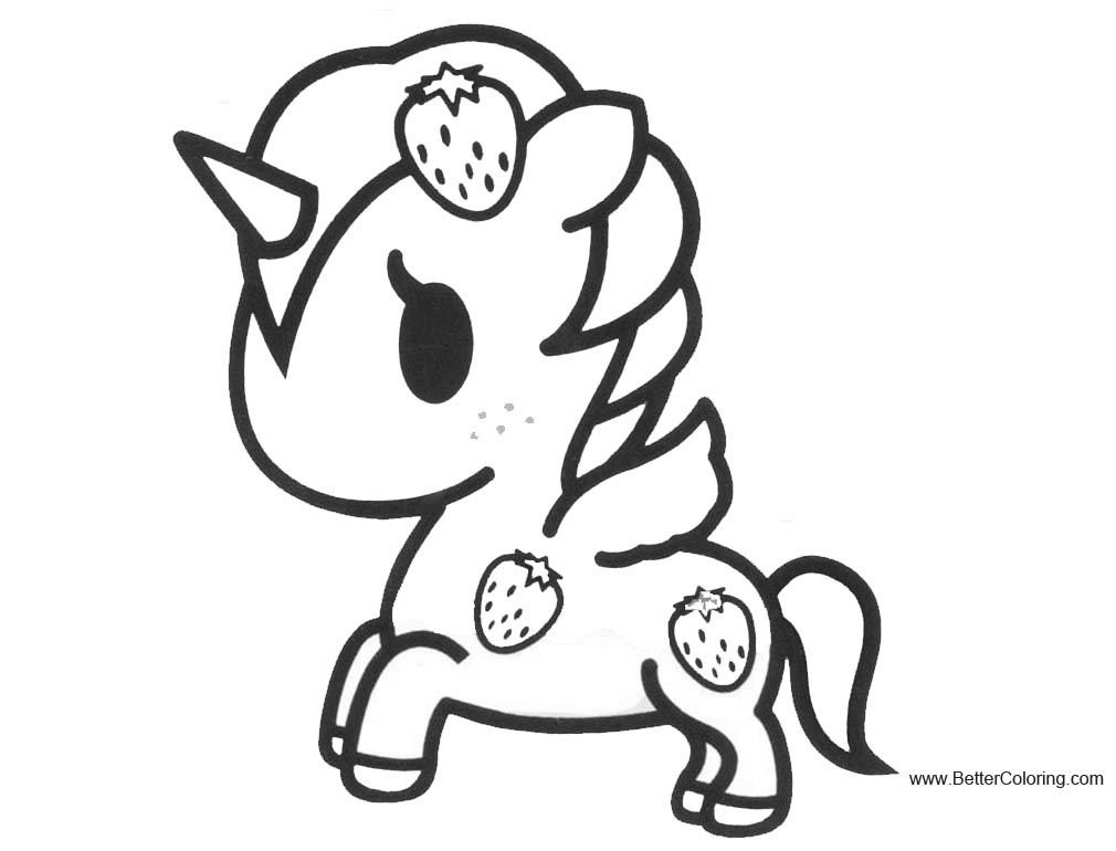 Tokidoki Unicorno Coloring Pages Related Keywords & Suggestions ...
