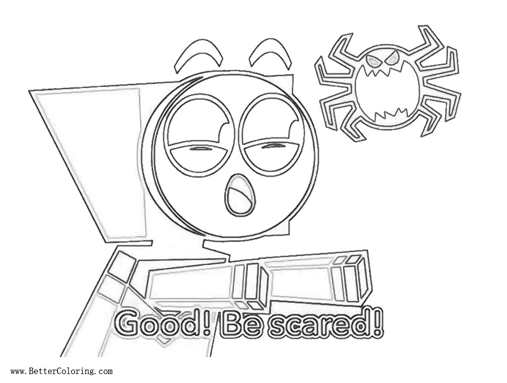Free Unikitty Coloring Pages Master Frown printable
