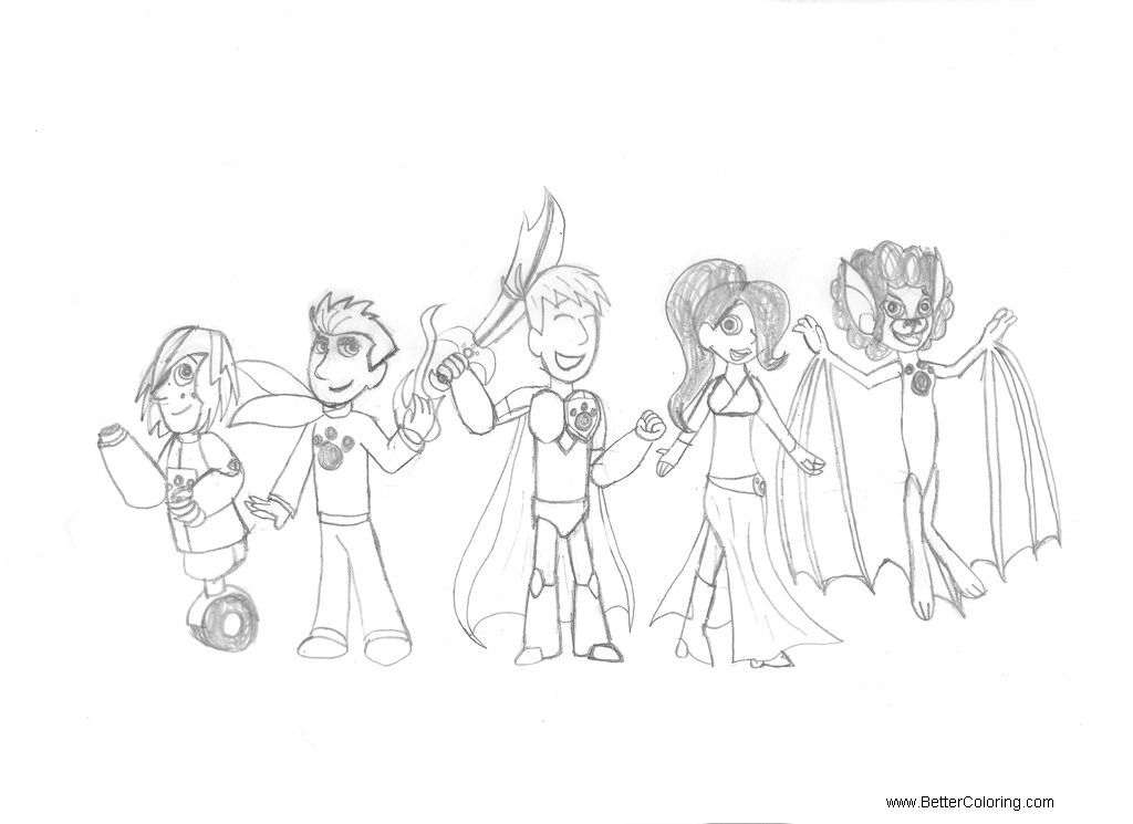 Free Wild Kratts Coloring Pages Fan Art by taismo 89 printable