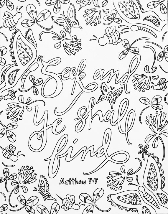 Free Bible Verse Coloring Pages Quote Memorizing Scripture printable