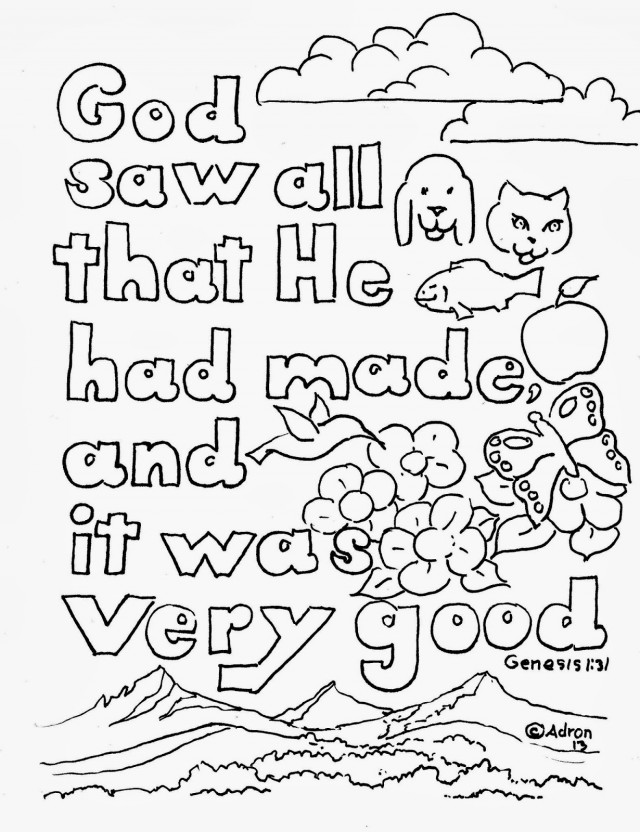 biblical animals coloring pages - photo#18