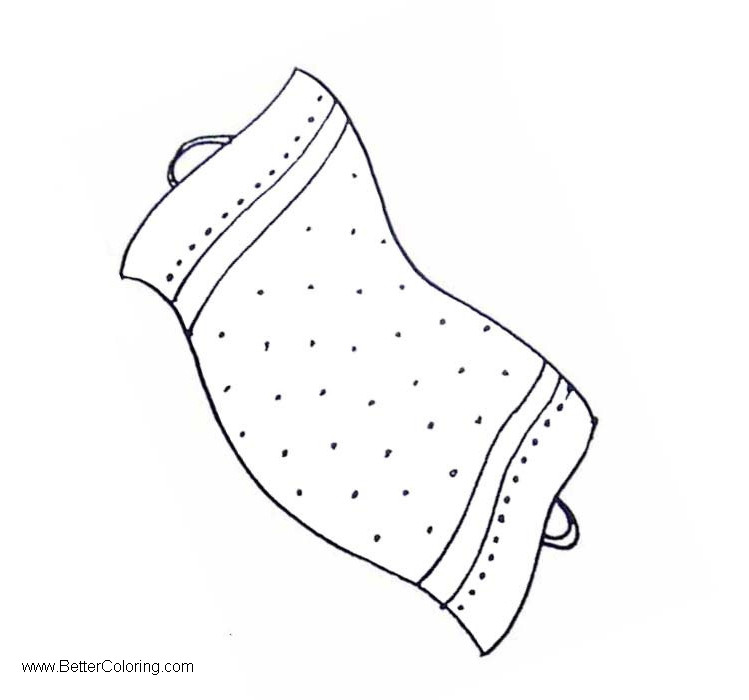 Free Coloring Pages of Beach Towel Clipart printable