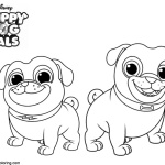 Hissy From Puppy Dog Bingo Coloring Pages Free Printable Coloring