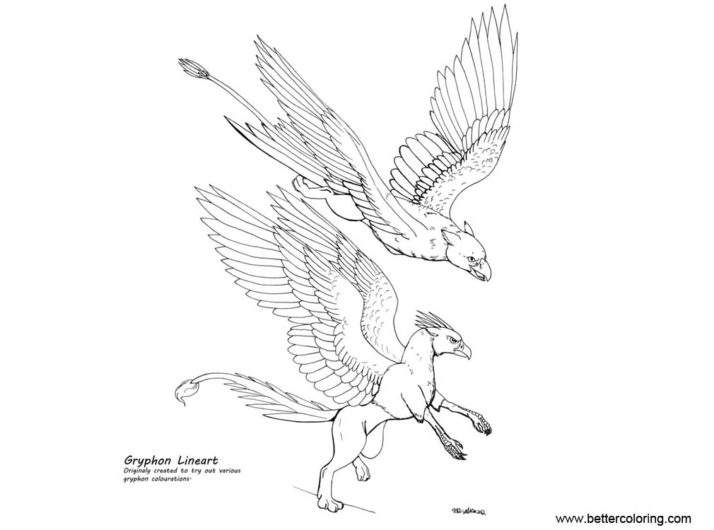 free griffon coloring pages | Griffin Coloring Pages by Auronyth - Free Printable ...