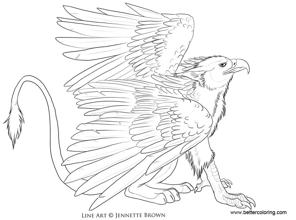 free griffon coloring pages | Griffin Coloring Pages by sugarpoultry - Free Printable ...