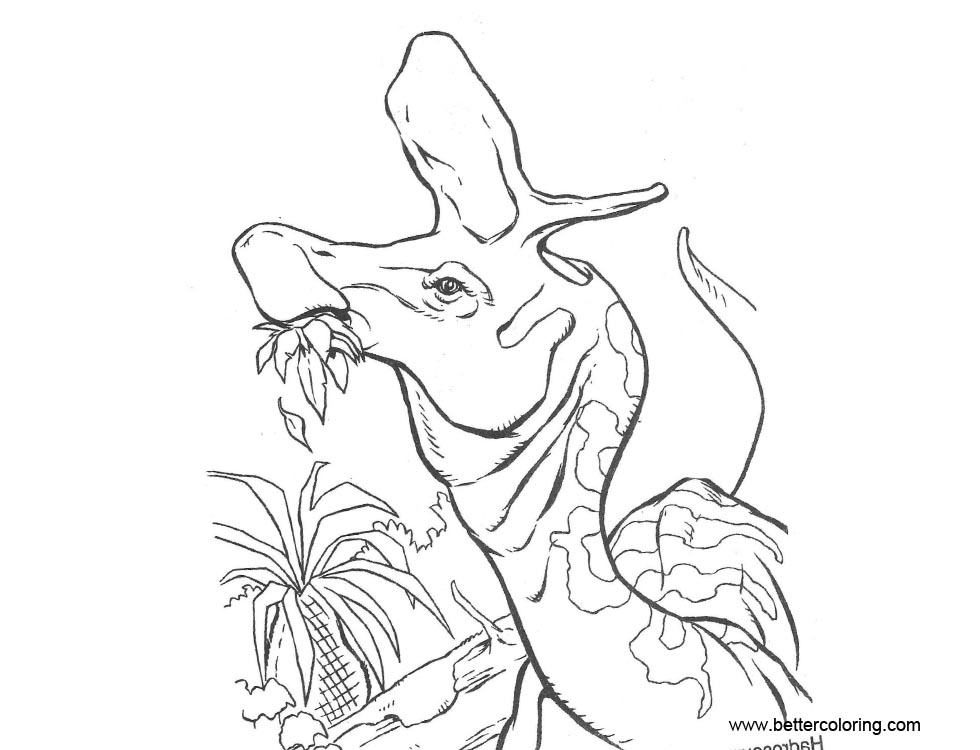 Free Jurassic World Coloring Pages Clipart printable