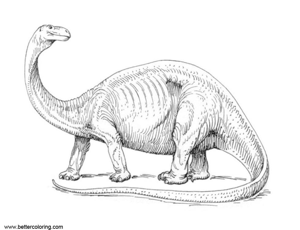 Jurassic World Fallen Kingdom Coloring Pages Apatosaurus ...