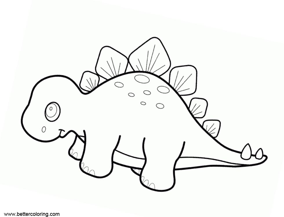 Free Jurassic World Fallen Kingdom Coloring Pages Baby Dinosaur printable