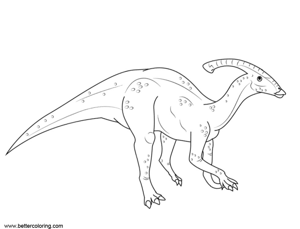 Free Jurassic World Fallen Kingdom Coloring Pages Hadrosaurids printable