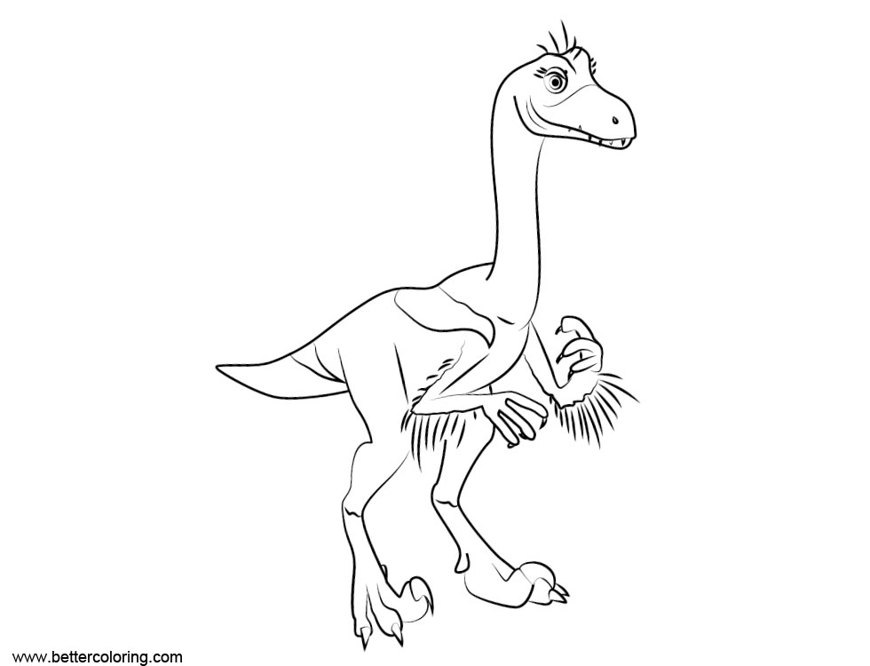 Jurassic - Free Colouring Pages