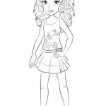 Lego Friends Coloring Pages Free Printable Coloring Pages