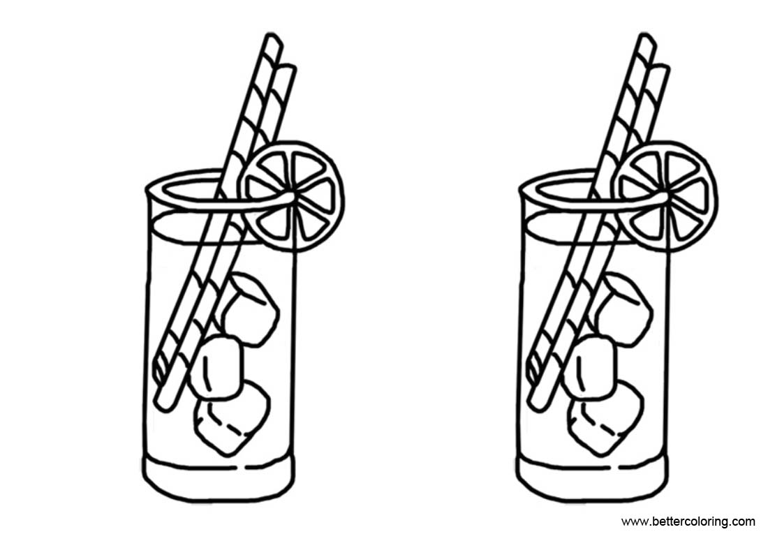 Free Lemonade Coloring Pages Eeasy Drawing printable