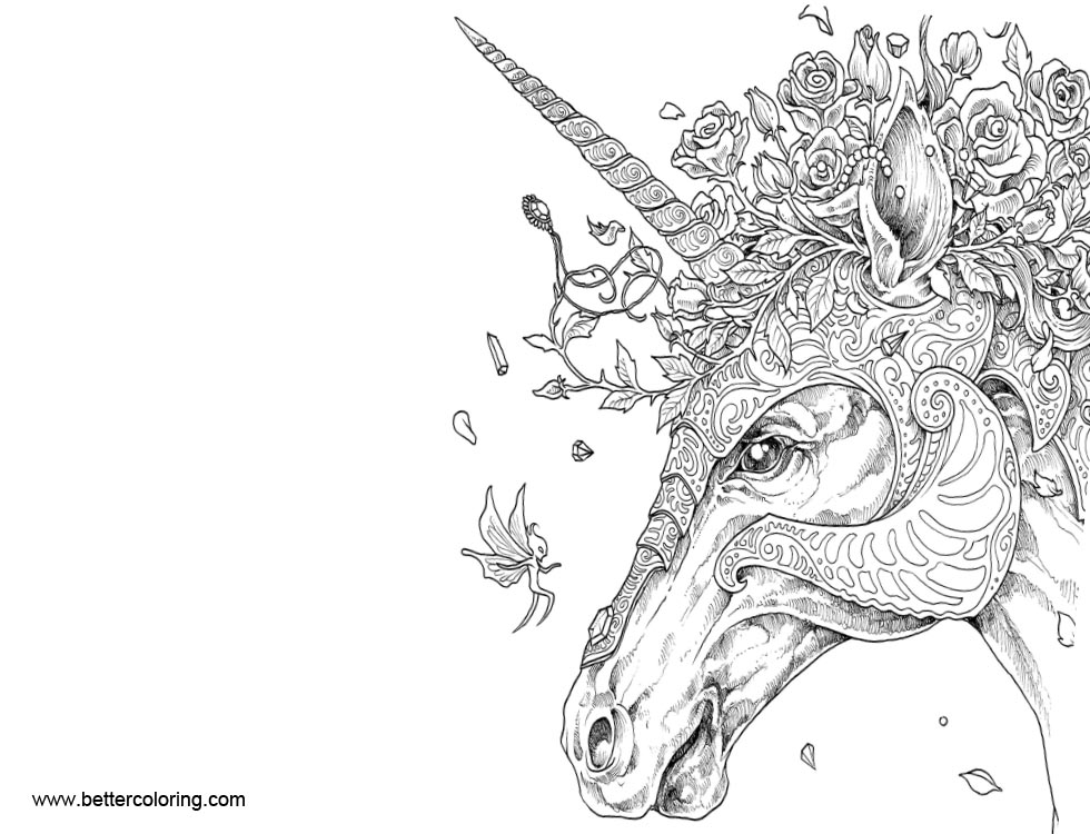 Free Mythomorphia Coloring Pages printable