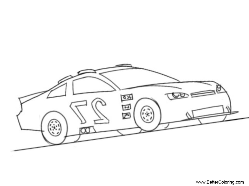 Free Nascar Coloring Pages No 27 printable