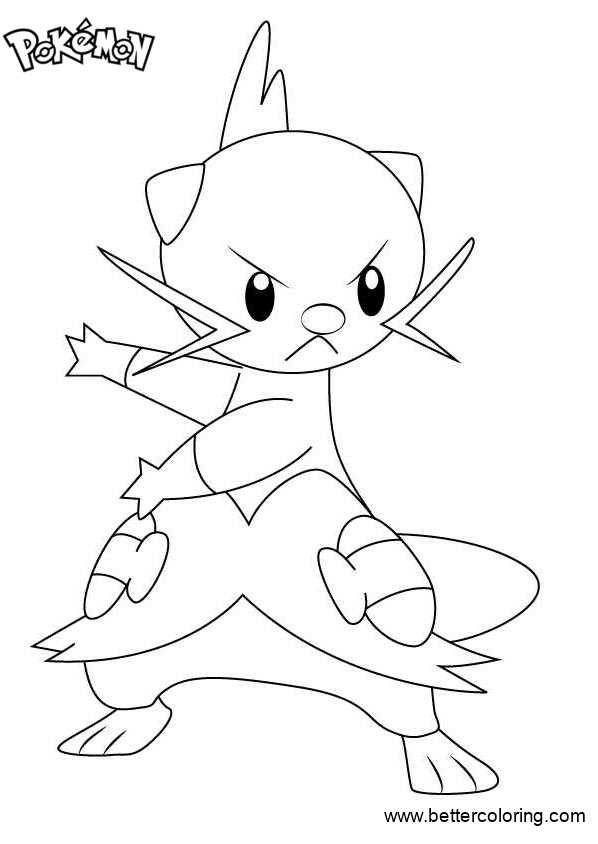 Free Pokemon Coloring Pages Dewott printable
