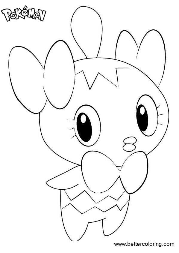 Free Pokemon Coloring Pages Gothita printable