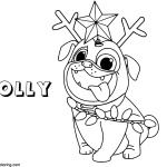 Puppy Dog Pals Coloring Pages Lineart Free Printable Coloring Pages