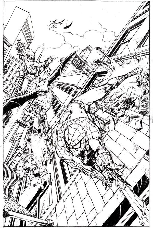 Spiderman Homecoming Coloring Pages by emmanuelxerxjavier ...