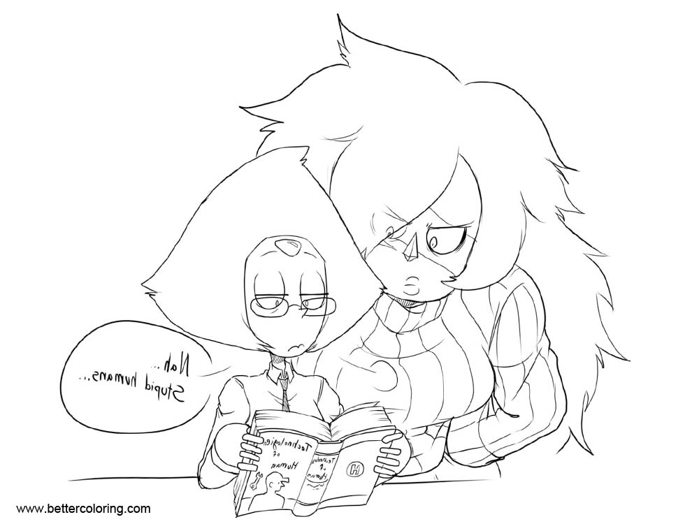 Free Steven Universe Coloring Pages Homeworld Gems by carumbell printable
