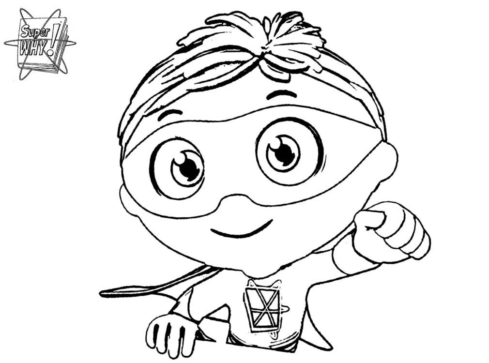 photograph about Super Why Printable called Tremendous Why Coloring Internet pages William - Cost-free Printable Coloring Webpages