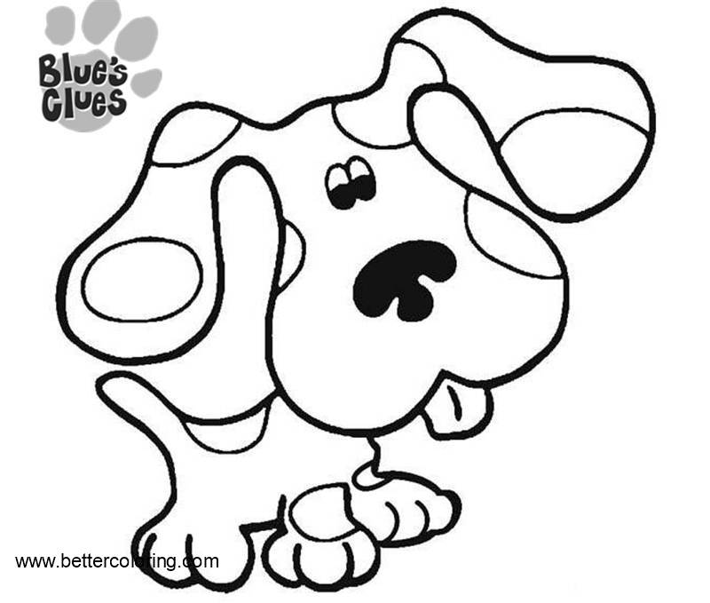 blues clues online coloring pages - photo#16
