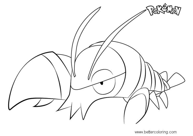 Free Clauncher from Pokemon Coloring Pages printable