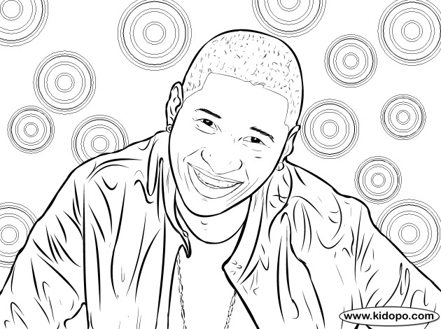 Free Cute Drake Coloring Pages printable