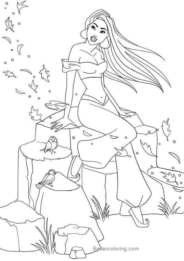 Disney Pocahontas Coloring Pages - Free Printable Coloring ...