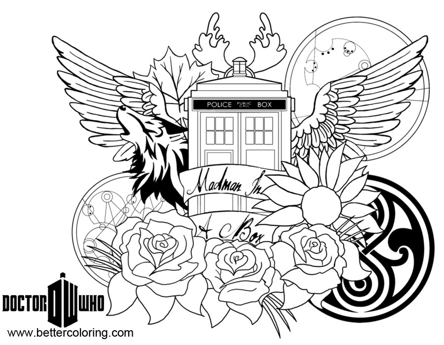 free doctor coloring pages - photo#10