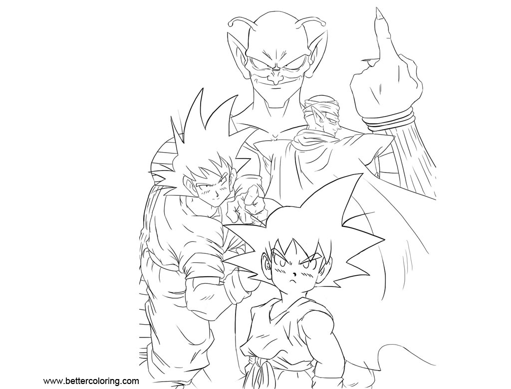 Free Dragon Ball Super Coloring Pages by joejr2 printable
