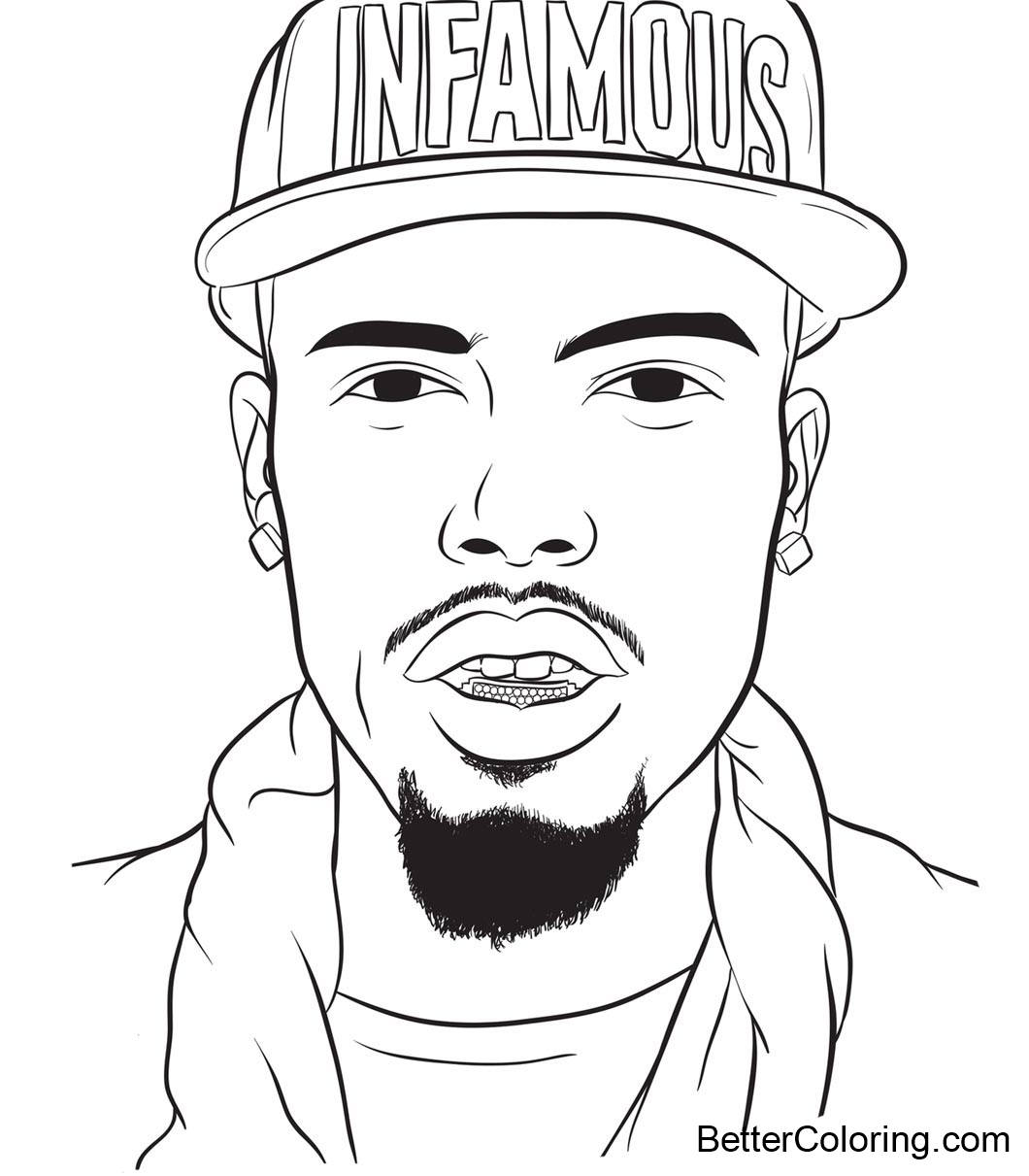 Free Drake Coloring Pages Fan Art printable